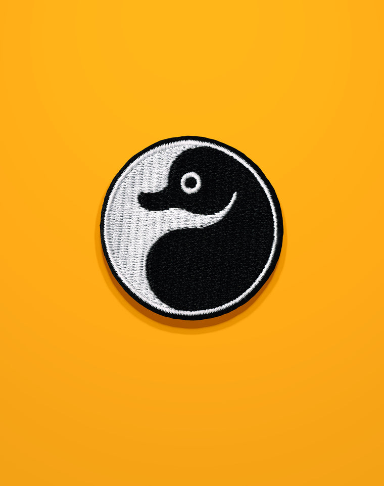 SS18 Yin Yang Platypus Iron-on Patch