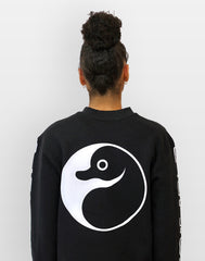 Yin Yang Platypus UK Streetwear black unisex sweatshirt clothing