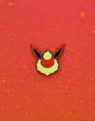 pokemon flareon ditto-face enamel pin badge best art pins