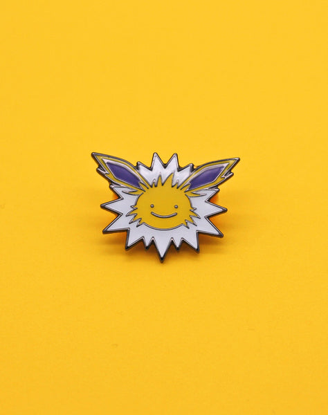 pokemon jolteon ditto-face enamel pin badge best pokemon fanart
