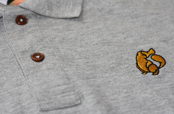 Platypus Emblem Grey Polo