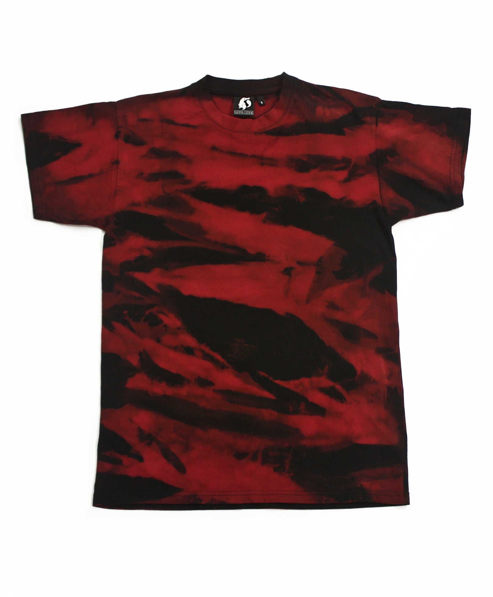 Wild Acid Wash T-Shirt - Red