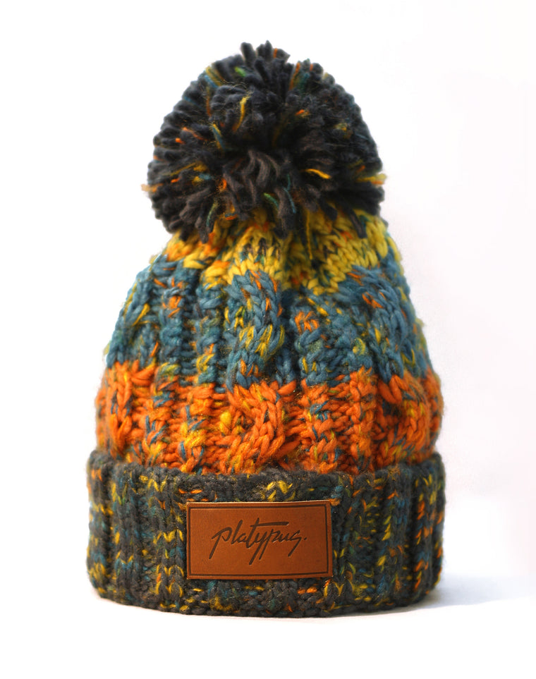 Retro Big Knit Beanie