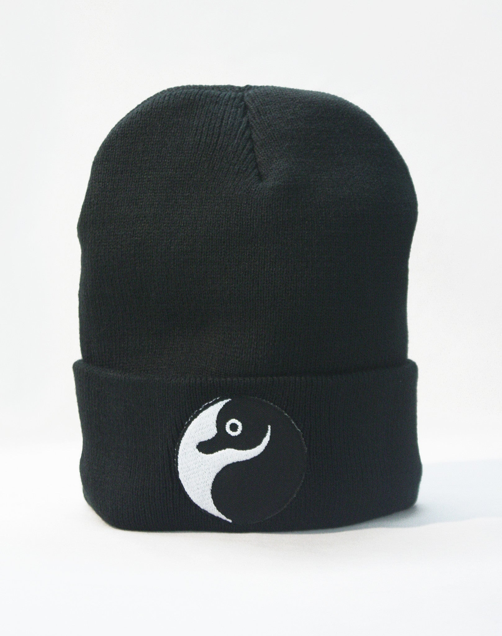 Platypus Independent Clothing Ying Yang Patch Beanie Hat