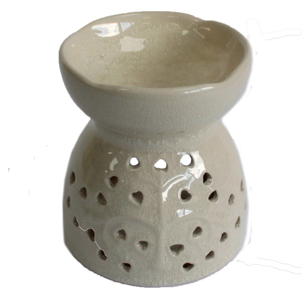 Tree of Life Oil Burner - Ivory - Aromatherapy