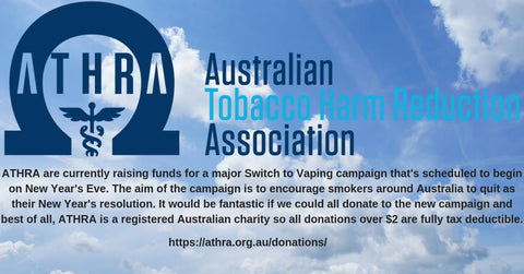 ATHRA Australia Tobacco Harm Reduction Association
