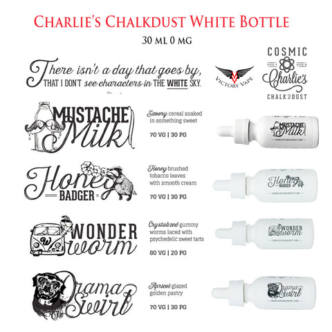 Charlies Chalkdust menu
