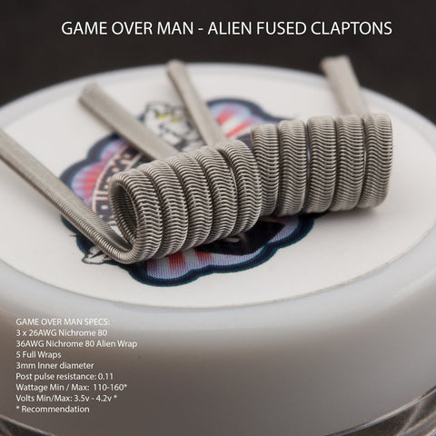 cloud Revolution Game Over Man! Alien Fused Claptons OG