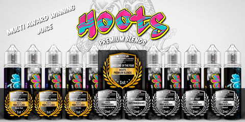 Hoots Premium Blends Award Winning Eliquids, Australian Vaping Awards