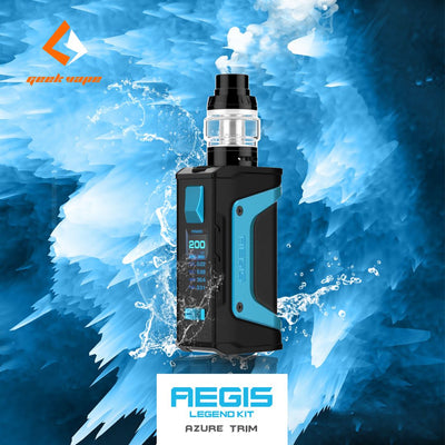 Geek Vape Aegis Legend 200W TC Kit • w/ 4ml Aero Mesh tank