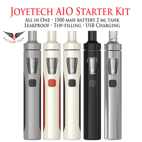 "Joyetech Ego AIO ""All in One"" Starter Kit (w/ 2 x 0.6 ohm BF MTL atomisers)"