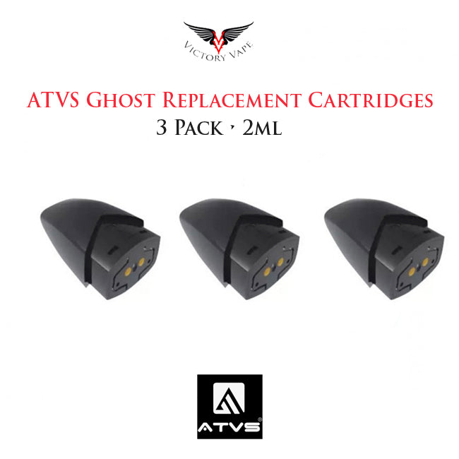 ATVS Ghost Pod Cartridges • 3 pack 1.5ml