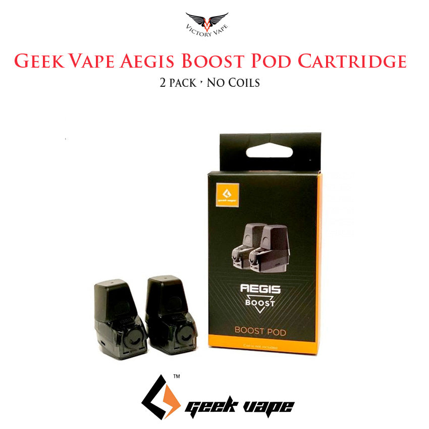 Geekvape Aegis Boost Pod Cartridge • 2 Pack (no coils)