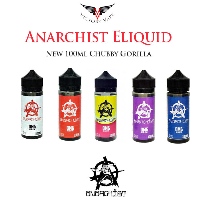Anarchist Eliquid • 100ml 0mg