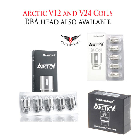 Arctic V12 and V24 Coils • 5 pack (or single RBA head)