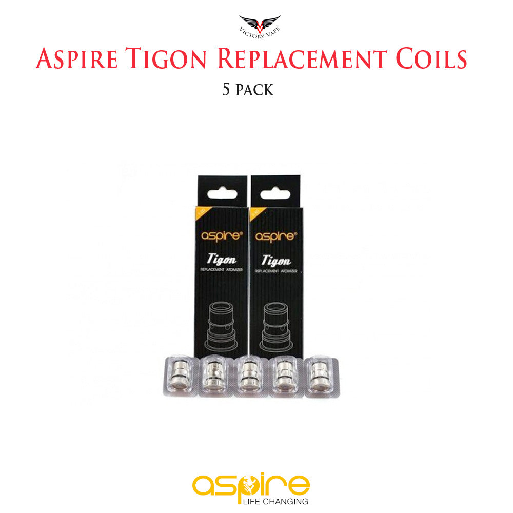 Aspire Tigon Replacement Coils • 5 Pack