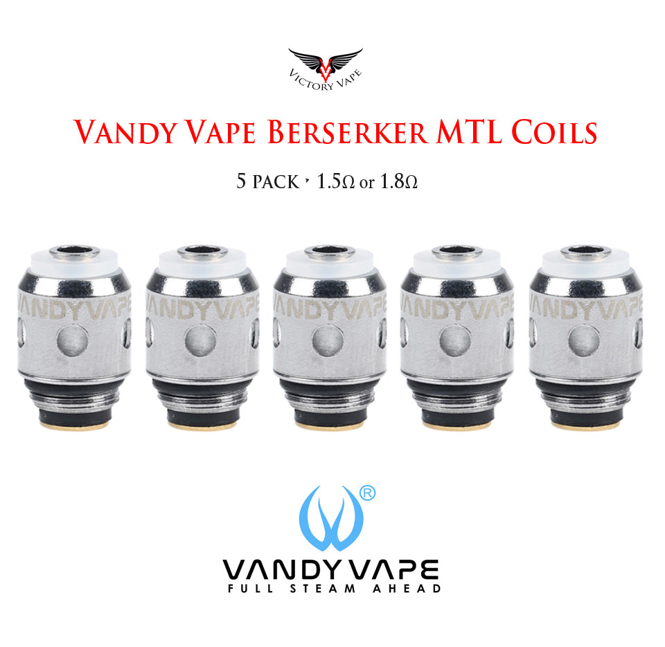 Berserker MTL replacement coils by Vandy Vape