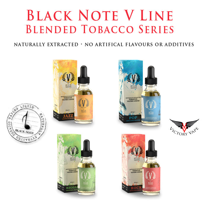 tobacco Naturally Extracted Black Note V Line Series Black Note bacci