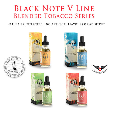 Black Note V Line Series • 30ml 50VG/50PG