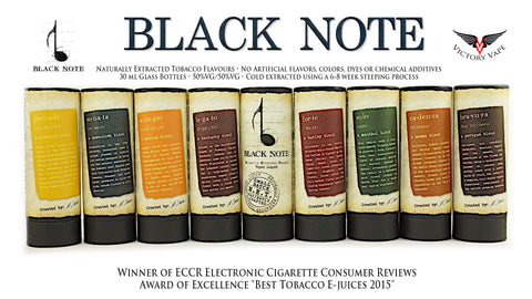Black Note Eliquids • Naturally Extracted Flavours