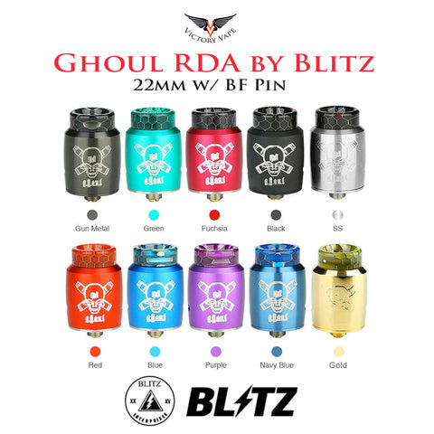 GHOUL RDA by Blitz • 22mm (Squonkable)
