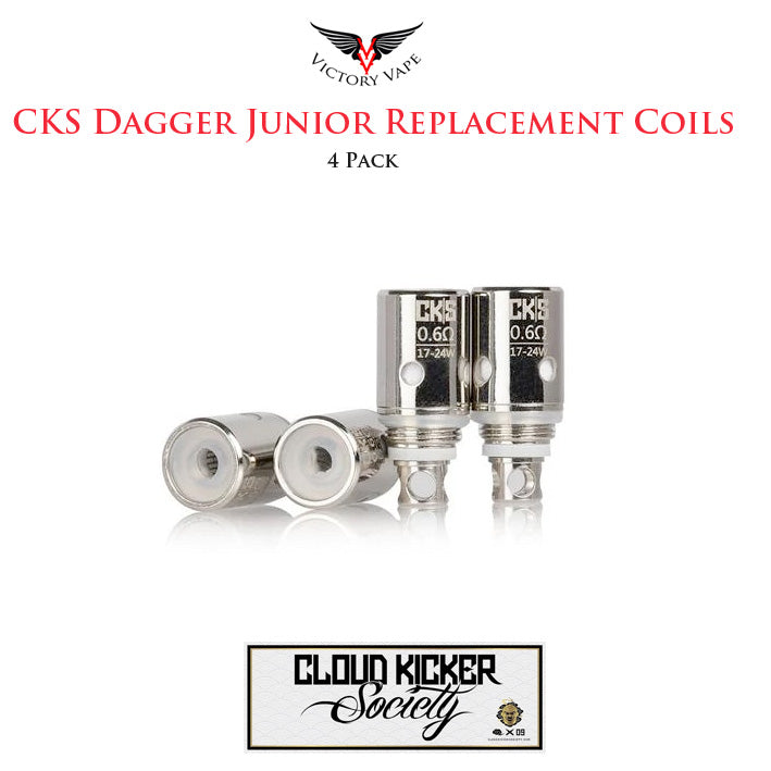 CKS Dagger Junior Pod Replacement Coils • 4 Pack