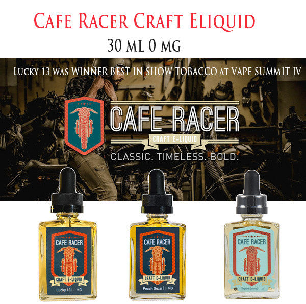 Cafe Racer Craft E-Liquid • 30ml 0mg
