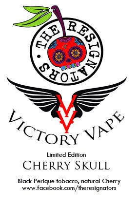 The Resignators' Cherry Skull E-Liquid