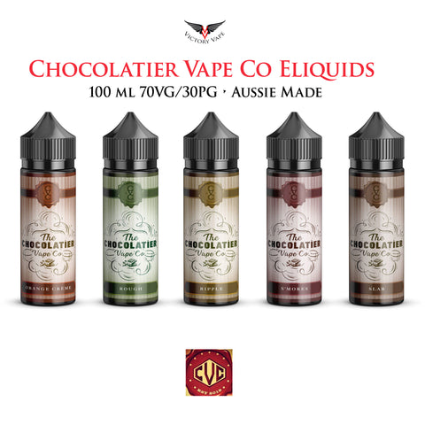 Chocolatier Cocoa Eliquid • 60ml 0mg • 70VG/30PG