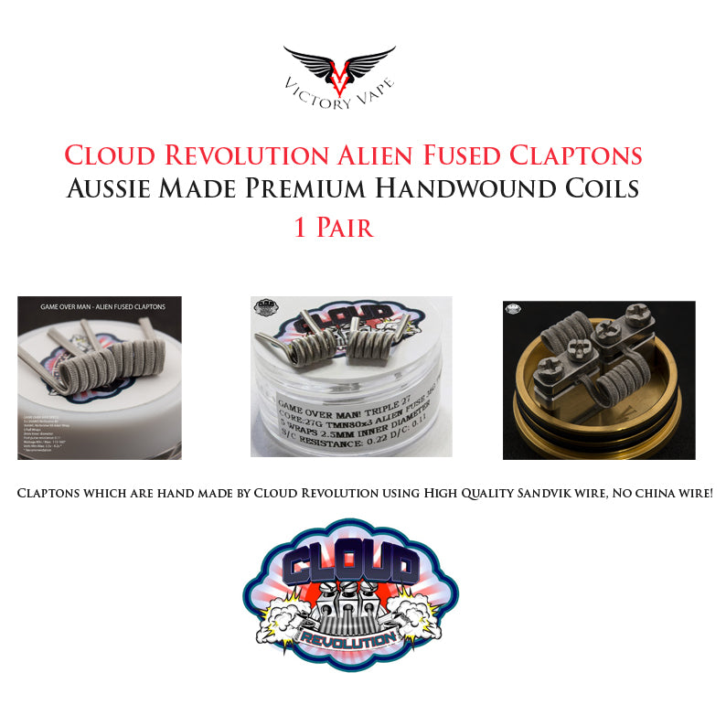 Cloud Revolution Game Over Man! Alien Fused Claptons