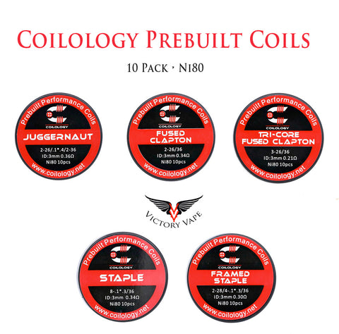 Coilology Prebuilt Coil • NI80 • 10 pack