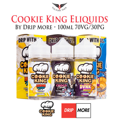 Cookie King Eliquids by Drip More • 100ml