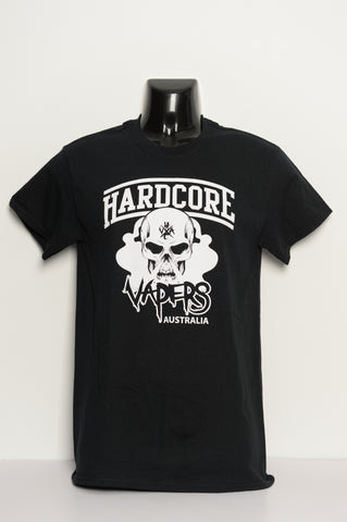 T-shirt • Hardcore Vaper • Black S