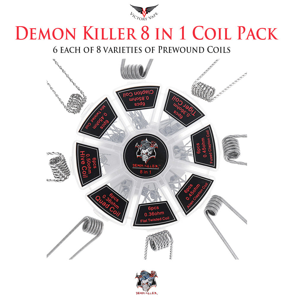 Demon Killer 8 in 1 Coil Pack • 48 pieces