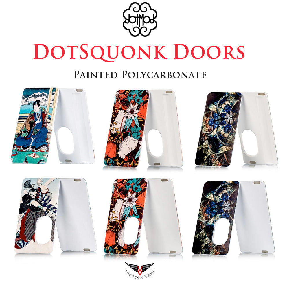 dotSquonk Painted Doors