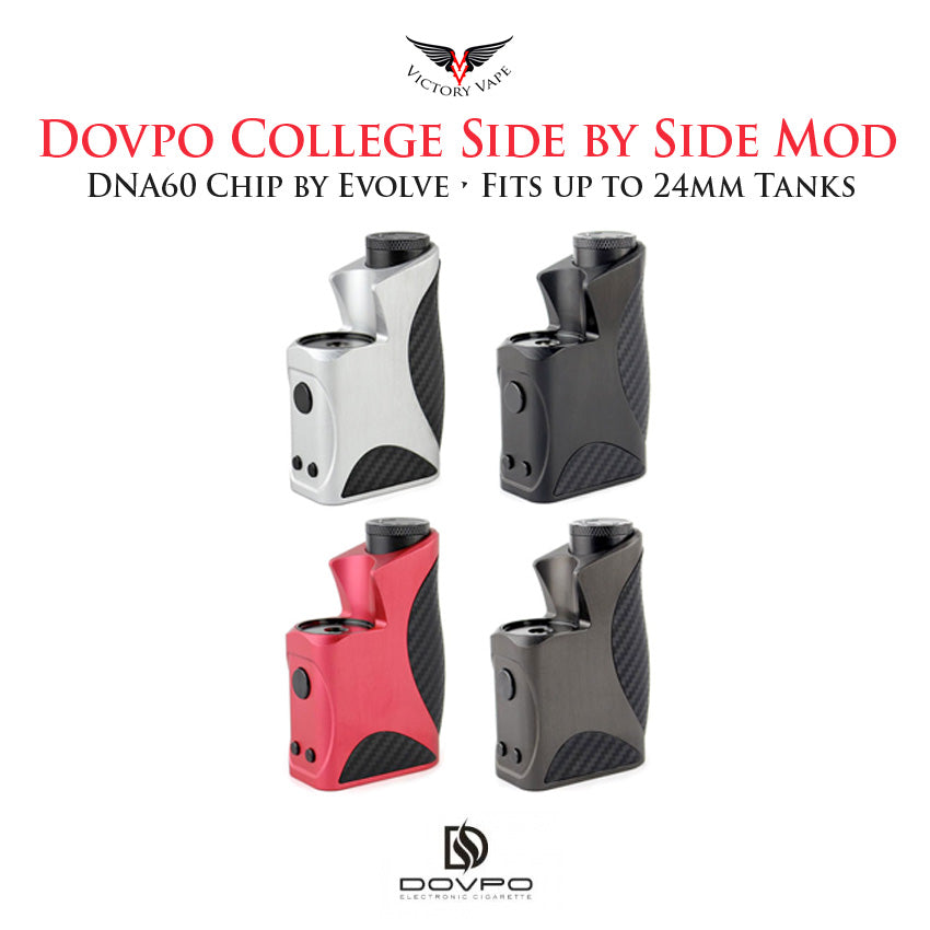 Dovpo College DNA60 60W SBS Side by Side VV/VW TC Mod • chip by Evolve