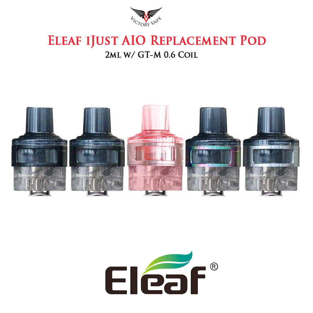 Eleaf iJust AIO Replacement Pod Cartridge • w/ 0.6 GT-M coil