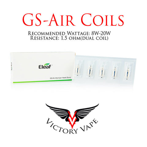 Eleaf GS Air / GS Air 2 / GS Tank Replacement Coils 5 pack