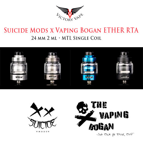 Suicide Mods ETHER RTA • 24mm RTA 2ml