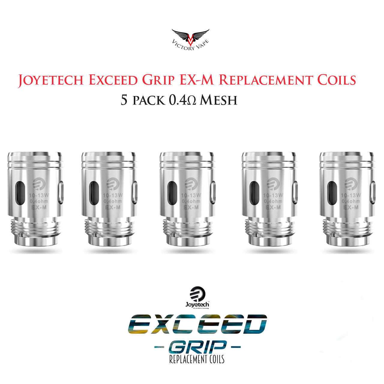 Joyetech Exceed Grip Pod Replacement Coils
