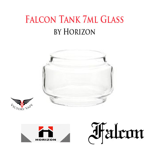 Falcon Tank 7ml Extension Glass by Horizon