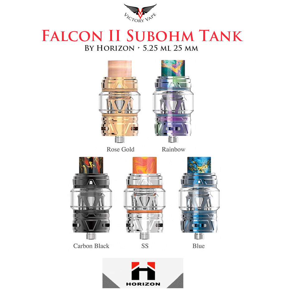 HorizonTech Falcon II ( 2 ) Tank • 25mm 5.2ml