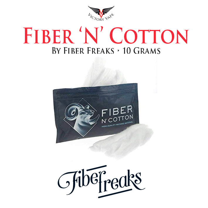 Fiber Freaks Fiber N Cotton Wicking • 10g pack