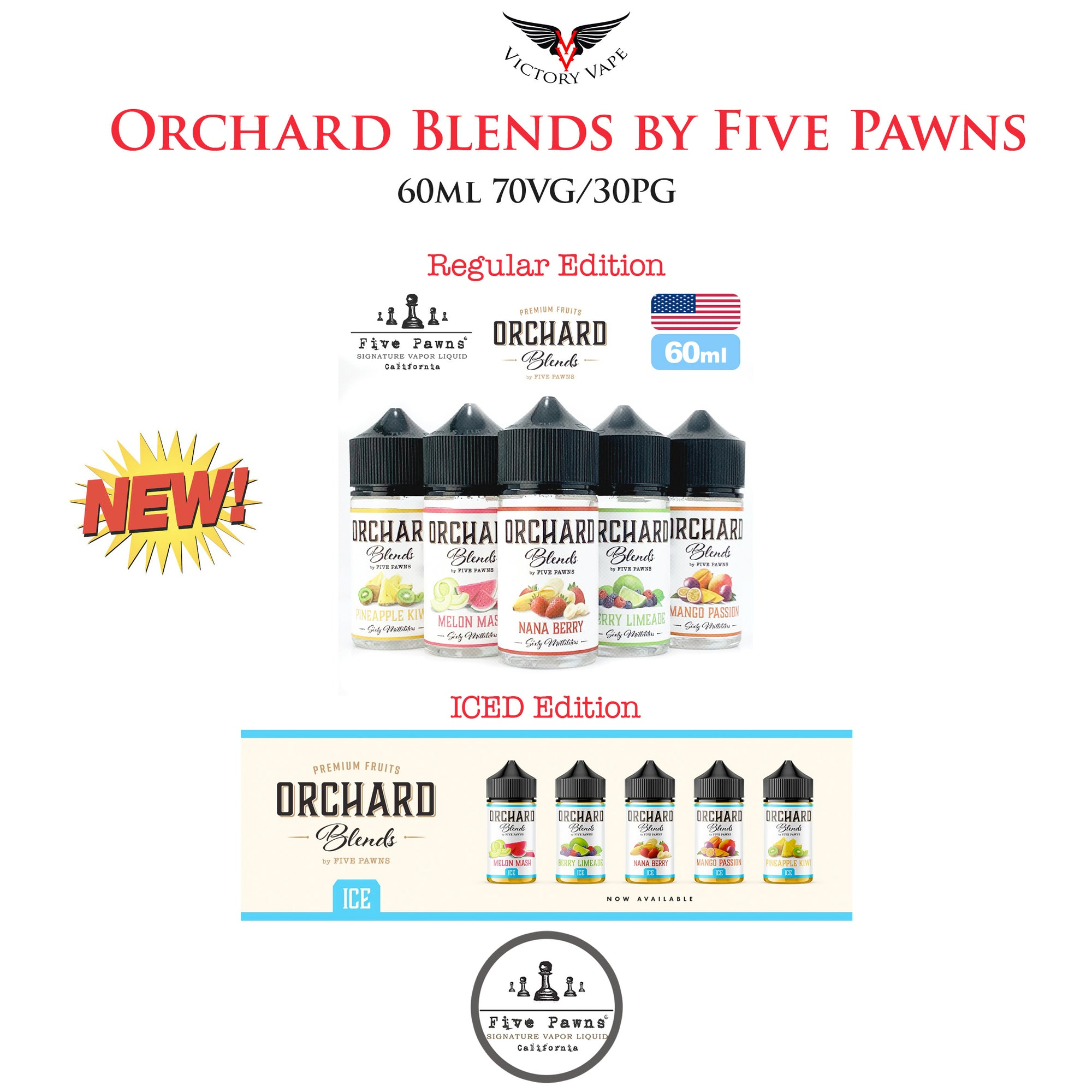 Orchard Blends by Five Pawns Eliquids