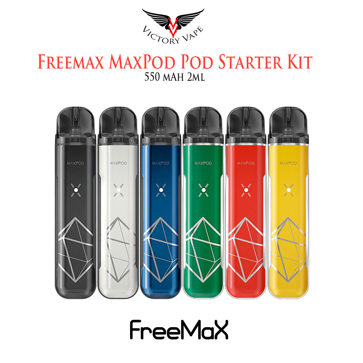 Freemax Maxpod Pod Starter Kit • 550 mAh 2ml