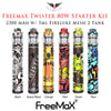 Freemax Twister 80W Starter Kit • 2300 mAh w/ 5ml Fireluke Mesh 2 Tank