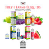 Fresh Farms Eliquid • 60ml 65VG/35PG