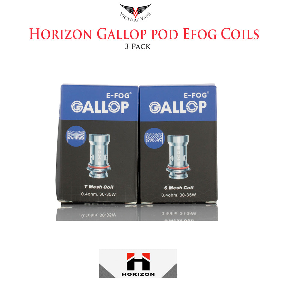 Horizon Gallop E-fog Pod Replacement Coils • 3 Pack