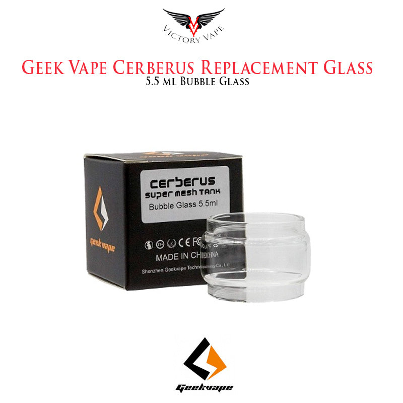 Geek Vape Cerberus Replacement Glass • 5.5ml bubble