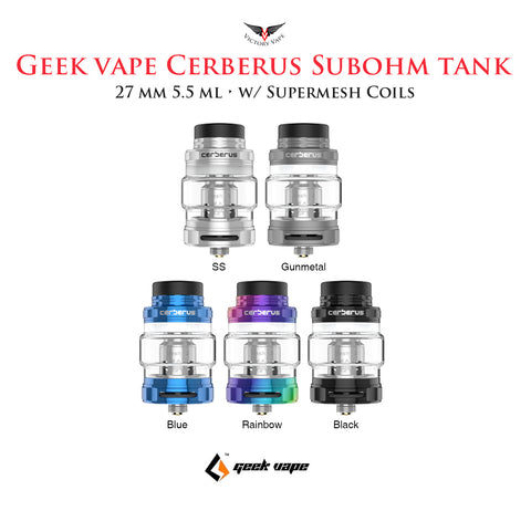 Geek Vape CERBERUS Subohm Tank • 27mm 5.5ml